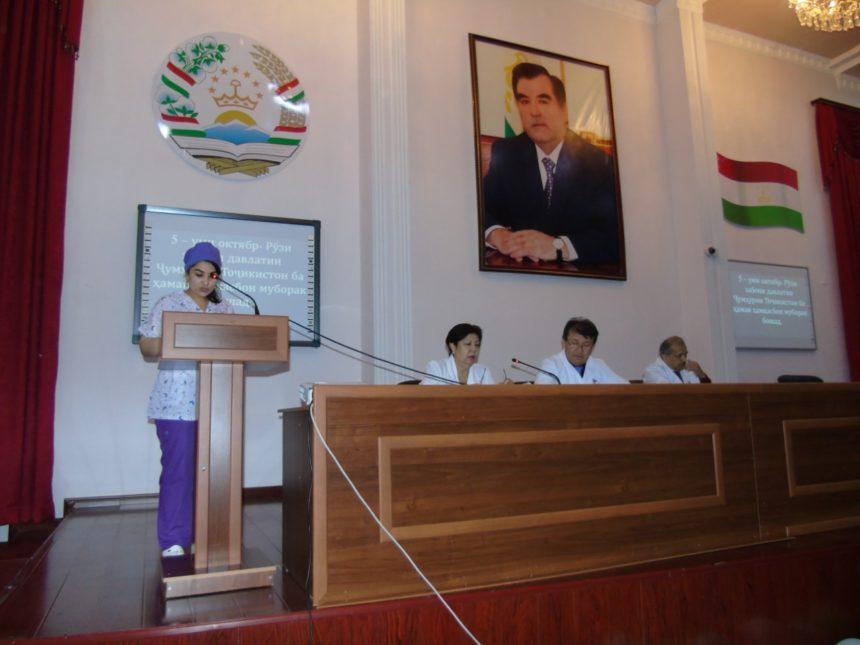 Таҷлили рӯзи забон дар МТИ 05.10.2018 08:00 ш.Душанбе