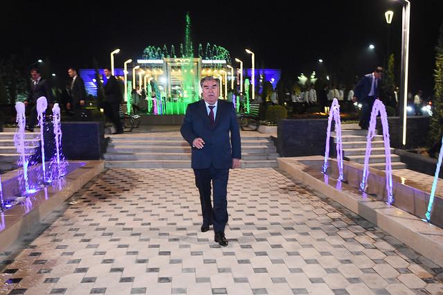 Ба истифода додани боғи фарҳангию фароғатии Хуталон дар шаҳри Кӯлоб 10.09.2019 22:50, шаҳри Кӯлоб