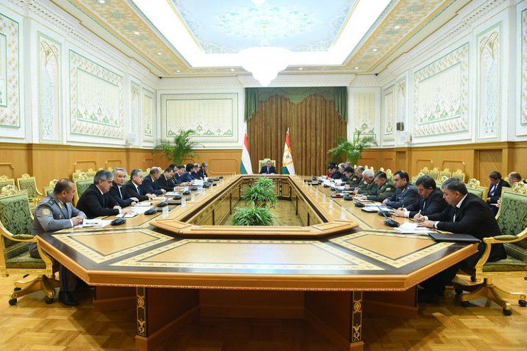 Ҷаласаи Шӯрои амнияти Ҷумҳурии Тоҷикистон 14.11.2019 13:08, шаҳри Душанбе
