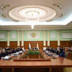 Маҷлиси Ҳукумати Ҷумҳурии Тоҷикистон 27.11.2019 11:50, шаҳри Душанбе
