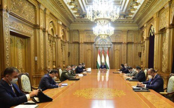 Ҷаласаи Шӯрои амнияти Ҷумҳурии Тоҷикистон 21.07.2020 15:56, шаҳри Душанбе